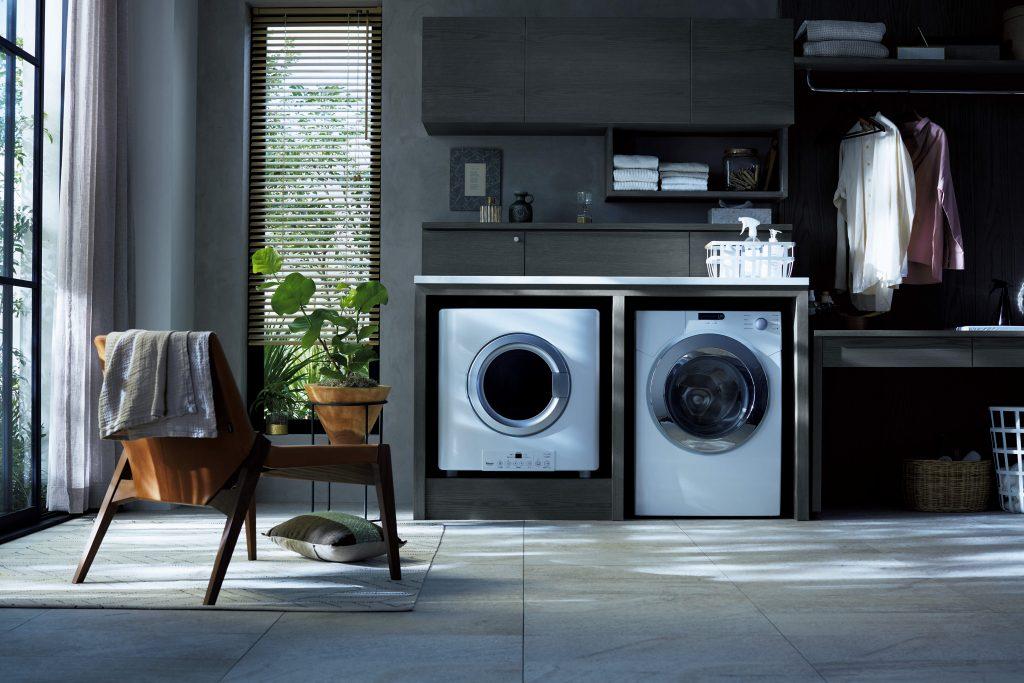 洗濯してもふわふわにならないタオル・・・原因は干し方⁈ガス乾燥機で一気に解決!